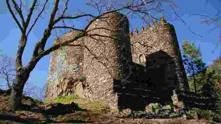 Castelo de Lousã em Portugal - Ricardo Ribeiro/UOL - Ricardo Ribeiro/UOL