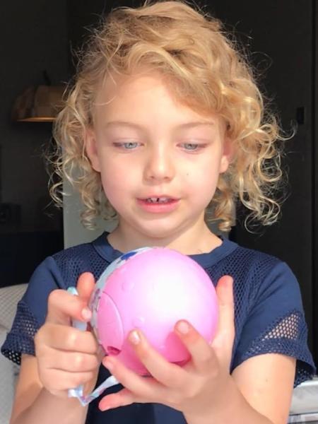 Brenda, 4 anos, filha de Sheila Mello e Fernando Scherer - Reprodução/Instagram