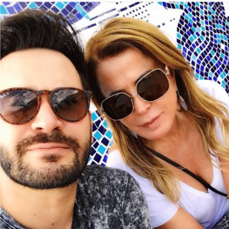 Zilu Camargo com o namorado, Marco Ruggiero - Reprodução/Instagram