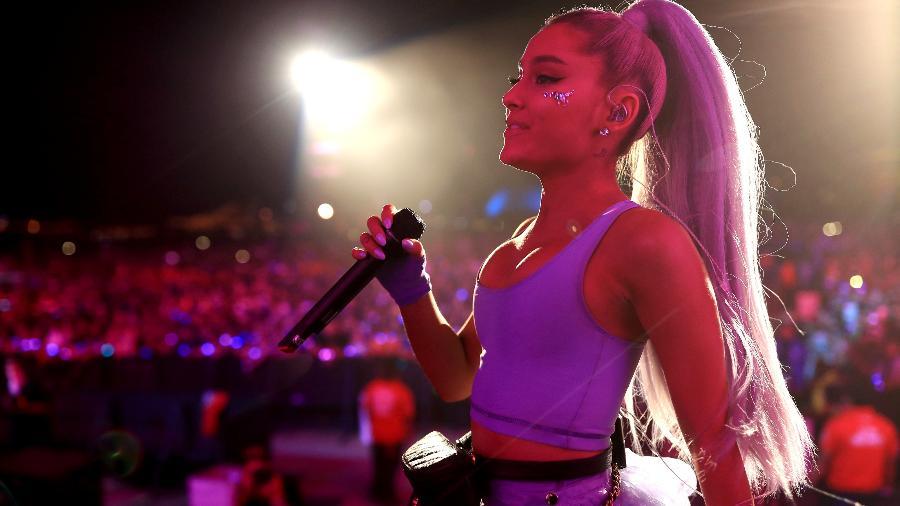 Ariana Grande cantou duas músicas no Coachella ao lado do DJ Kygo - Christopher Polk/Getty Images