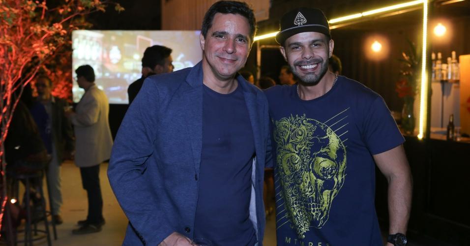 André Agra e Daniel Saboya, no Rio