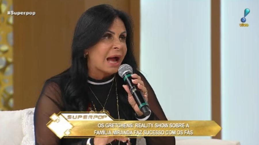 Gretchen no Superpop - Reprodução/Rede TV