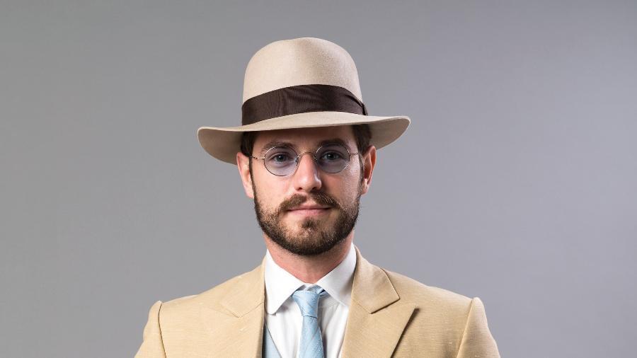 """O """"príncipe do café"""" Camilo Bittencourt (Maurício Destri)  - João Miguel Júnior/Globo"""