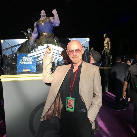 Jim Starlin, um dos criadores de Thanos - Reprodução/Facebook