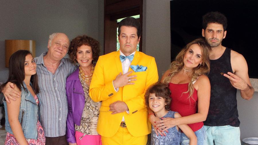 """O elenco de """"Crô em família"""" - Divulgação"""