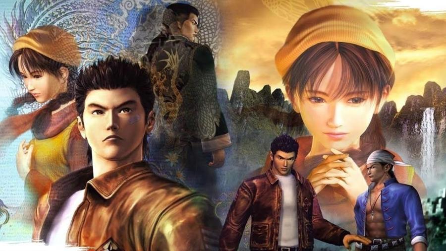 """""""Shenmue"""" é considerado uma das obras-primas dos videogames, e ficou conhecido por ser revolucionário e ousado para a sua época - Reprodução"""