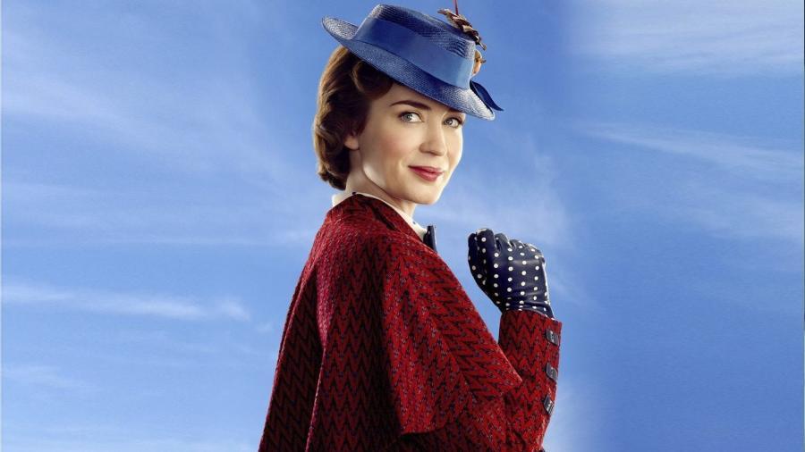 """Emily Blunt em """"O Retorno de Mary Poppins""""  - Divulgação"""