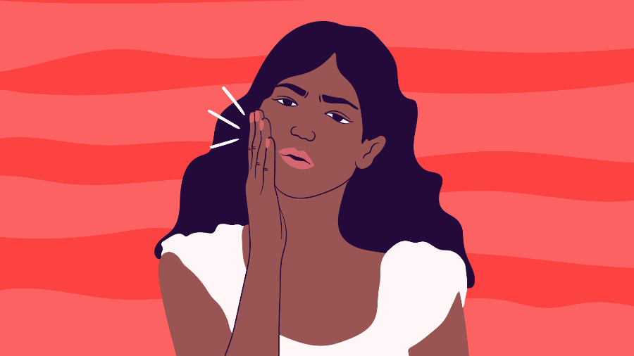 A inflamação da gengiva por causa de higiene ruim e acúmulo de placa bacteriana é causa da periodontite, que pode levar à perda de dentes - Camila Rosa/VivaBem