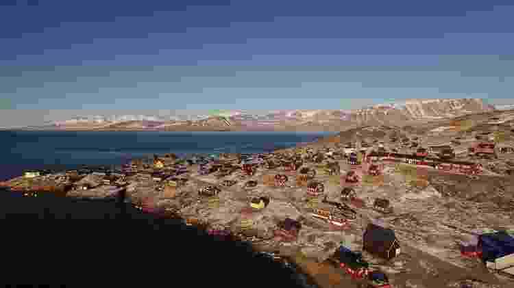 Ittoqqortoormiit é uma das mais isoladas vilas da remota Groenlândia  - Sassy Films/Hoteis.com