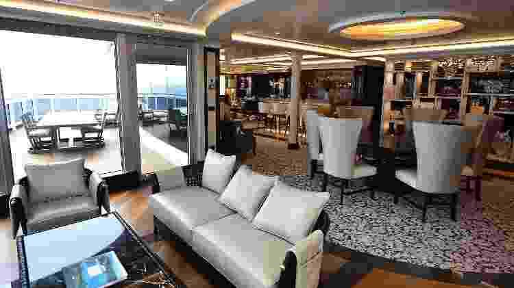 Mais luxuosa acomodação do Explorer, a Regent Suite tem 360 m² de área - Divulgação/Regent Seven Seas