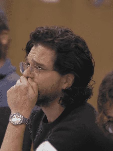 "Kit Harington chora ao ler episódios finais de ""Game of Thrones"" - Reprodução/YouTube"