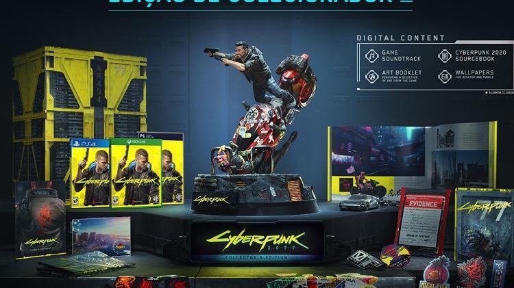 Cyberpunk 2077 - Edição de Colecionador - Reprodução - Reprodução
