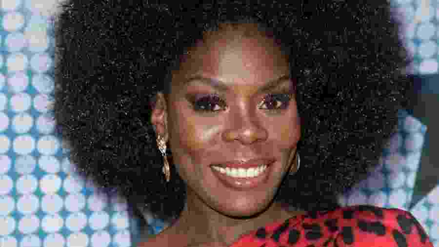 A atriz Imanuelle Grives - Reprodução