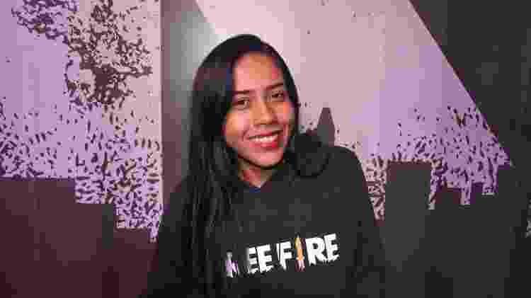 """Palominha começou a jogar """"Free Fire"""" em 2018 e já tem um canal de sucesso no YouTube - Samuca Hernandez/UOL"""