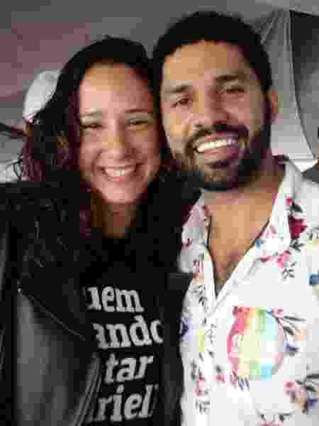 David Miranda e Mônica Benício participam da Parada LGBTI+  - Pauline Almeida/UOL