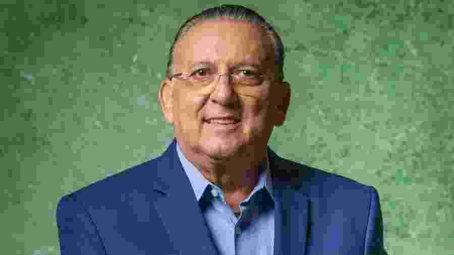 Galvão Bueno, narrador da Globo - Divulgação/TV Globo