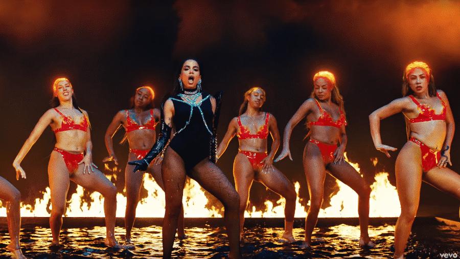 Cena de Fuego, clipe de DJ Snake e Anitta - Reprodução