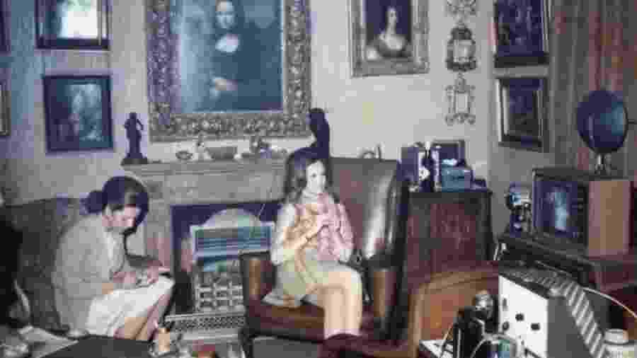 """Seria a """"Mona Lisa Preliminar"""", pendurada no flat do marchand Henry Pulitzer nos anos 1960, uma obra de Da Vinci? - Família Gilbert"""
