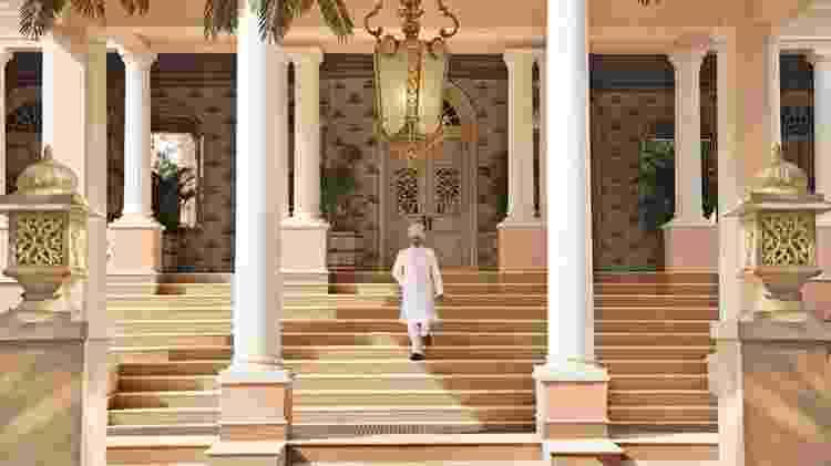 Entrada do Raj Mahal Palace - Divulgação