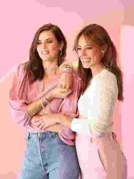 Camila Queiroz and Paolla Oliveira participate in Pandora's campaign - Disclosure