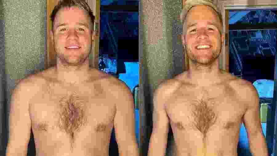 Olly Murs, antes e depois da perda de peso - Reprodução/Instagram