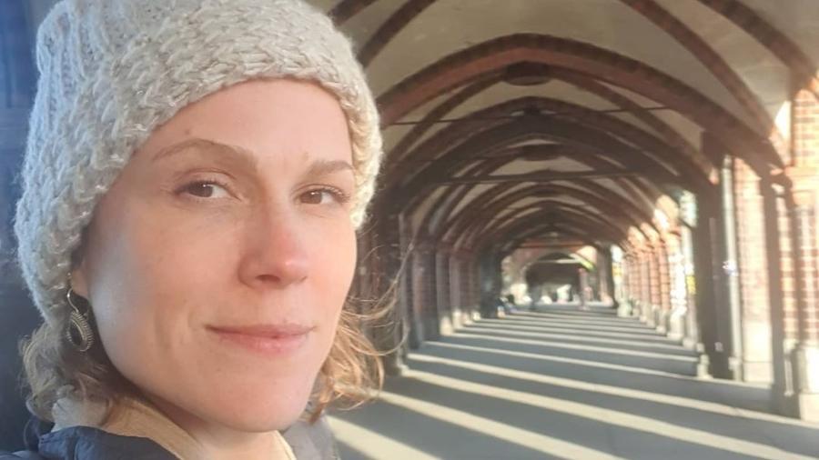 Mariana Hein, presa em Berlim após evento na Índia - Reprodução Instagram