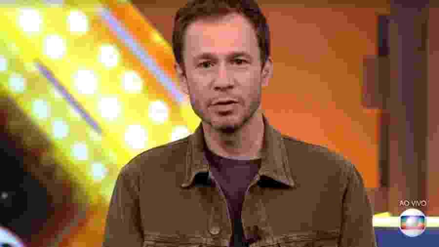 Tiago Leifert apresenta o último paredão do BBB 20 - Reprodução/TV Globo
