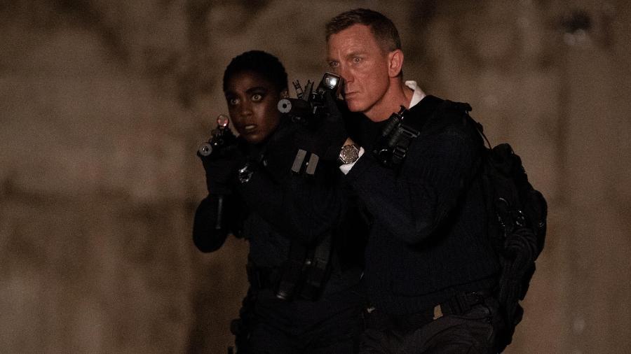 """Daniel Craig e Lashana Lynch, nova agente 00 em """"007: Sem Tempo para Morrer"""" - Divulgação"""