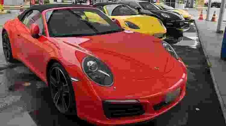 Giro 20 Clube dos carrões Porsche vermelho - Divulgação - Divulgação
