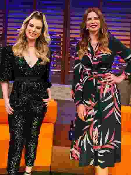 Fernanda Keulla e Luciana Gimenez - Wellington Marques/Divulgação RedeTV!