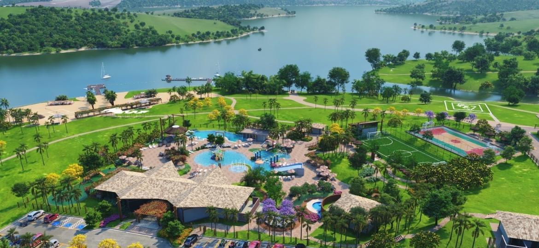 Lago Corumbá IV, que promete resgatar o turismo em Abadiânia - Divulgação
