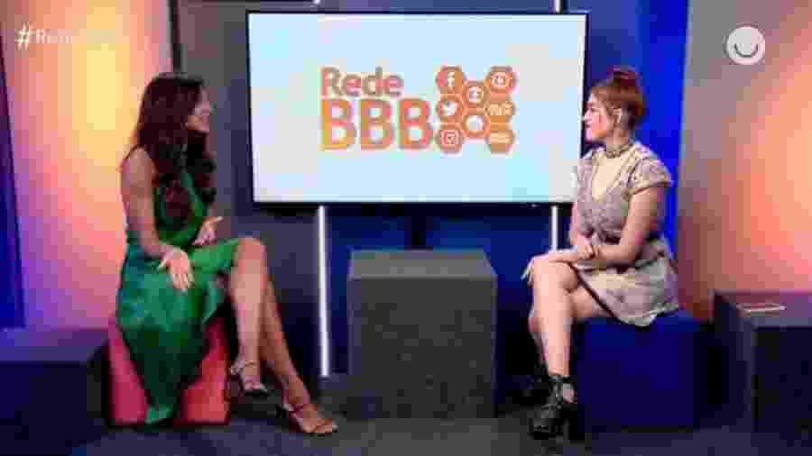 BBB 21: Qual ex-bbb deveria apresentar a RedeBBB? - Reprodução/GloboPlay