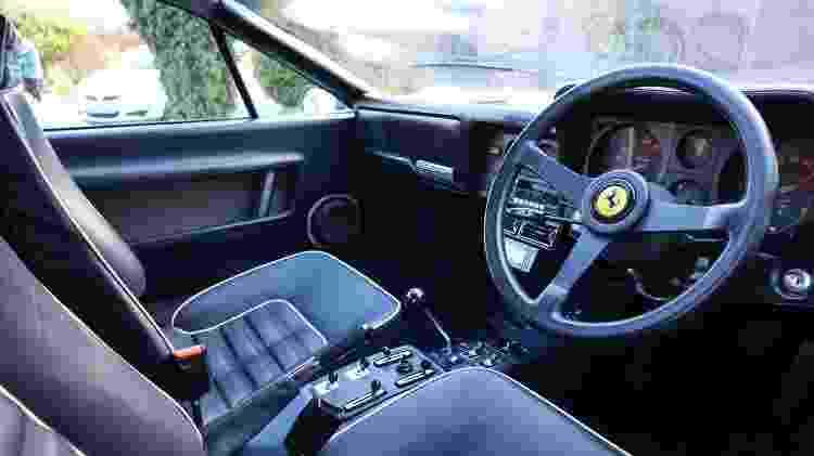 Ferrari 512 BBi 1983 príncipe saudita caçador de ferraris scott chivers antes e depois - Arquivo pessoal - Arquivo pessoal