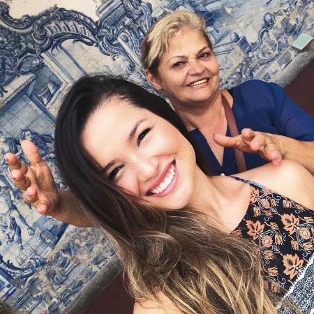 """Juliette e Dona Fátima: """"Ela é a vencedora do programa"""" - Arquivo pessoal"""