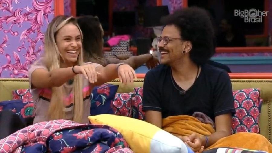 BBB 21: Fiuk fala sobre mulher dos sonhos e Sarah e Gil brincam - Reprodução/Globoplay