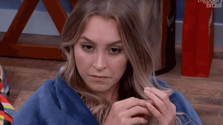 BBB 21: Carla no quarto secreto - Reprodução/Globoplay - Reprodução/Globoplay
