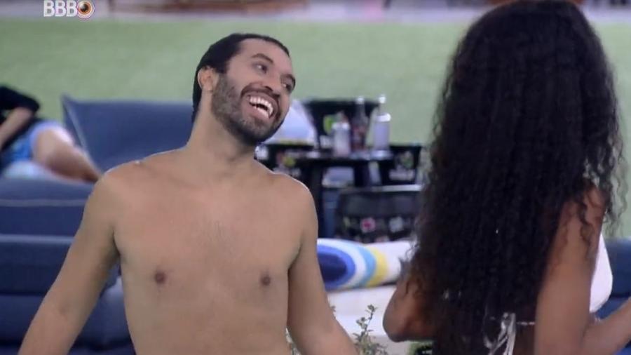 BBB 21: Gilberto diz que quer morder Arthur pra sempre - Reprodução/ Globoplay