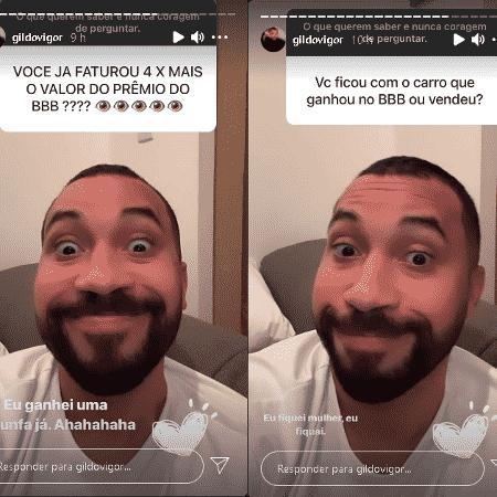 Gil do Vigor responde fãs - Instagram/@gildovigor - Instagram/@gildovigor