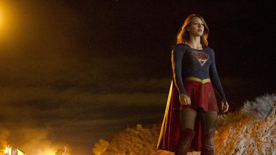 """Imagem da série """"Supergirl"""", protagonizada por Melissa Benoist - Divulgação"""