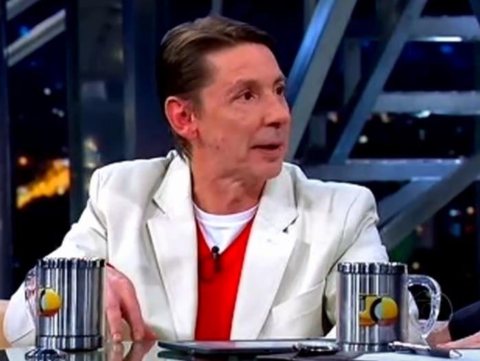 """Ator Flávio Guarnieri em entrevista no """"Programa do Jô"""""""
