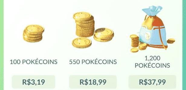 Pokémon GO - Loja - Reprodução - Reprodução