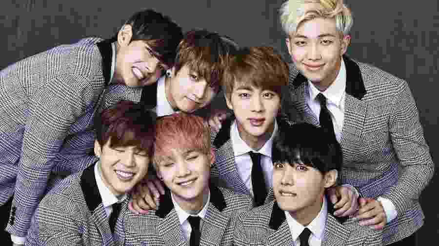 O grupo k-pop BTS - Divulgação