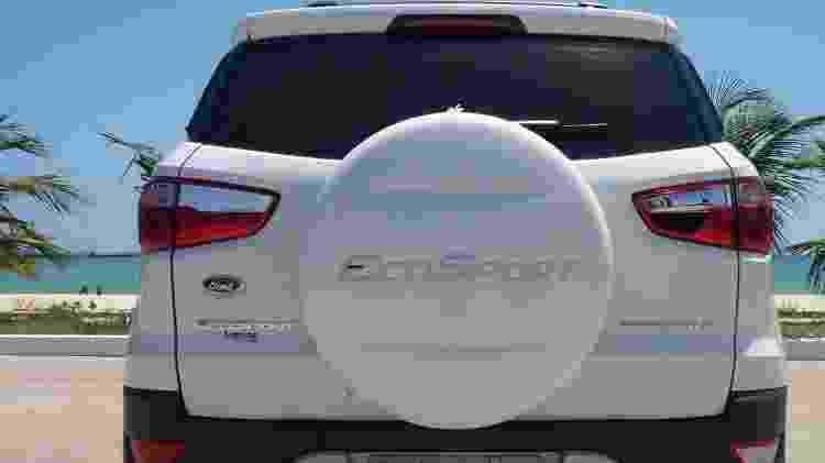 Ford EcoSport traseira - Reprodução - Reprodução
