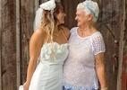 Vovó de 92 anos encanta no papel de madrinha de casamento da neta - Reprodução/Imgur