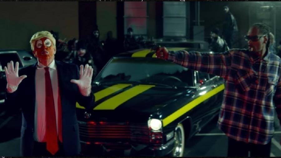 """Cena do clipe de """"Lavender"""", do rapper Snoop Dog - Reprodução"""