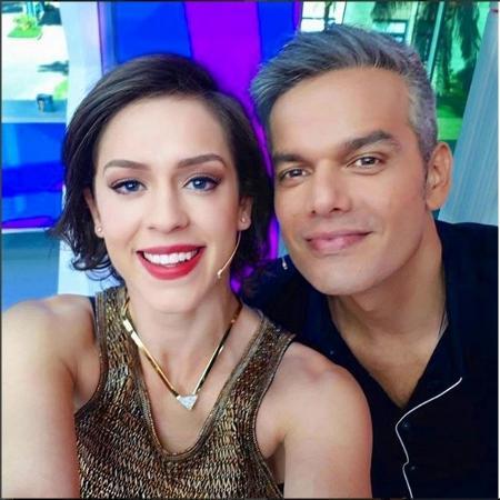 """""""Vídeo Show"""", de Otaviano Costa e Sophia Abrahão, fará pausa durante a Copa - reprodução/instagram/otacosta"""