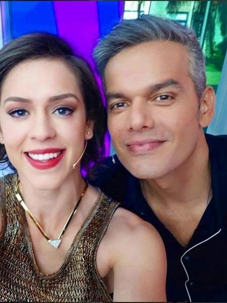 Otaviano com Sophia Abrahão - reprodução/instagram/otacosta