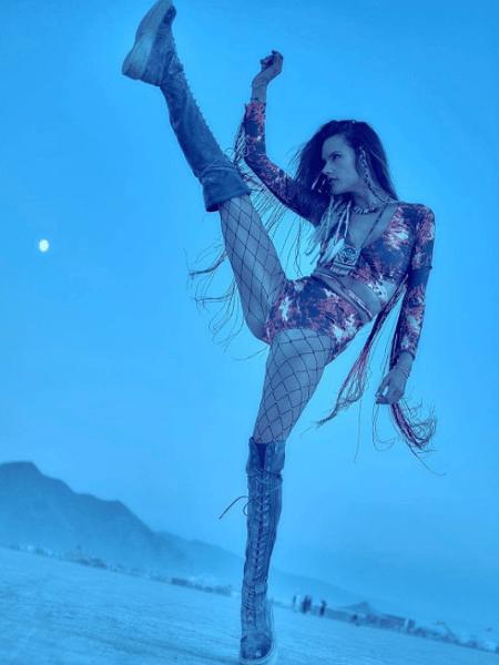 Alessandra Ambrósio curte festival de música nos EUA - Reprodução/Instagram/alessandraambrosio