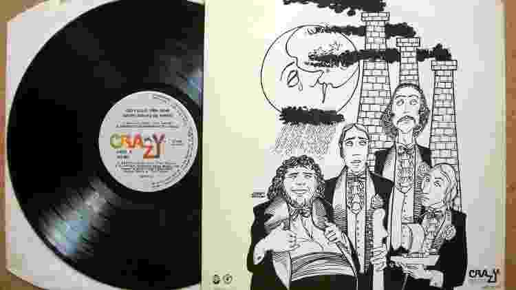 """Capa do disco """"São Paulo - 1554/Hoje""""  - Reprodução - Reprodução"""