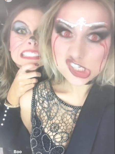 Sasha capricha no visual para festa de Halloween - Reprodução/Instagram